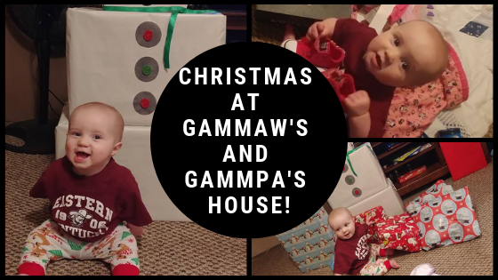 Christmas at Gammaw and Gammpa's House!
